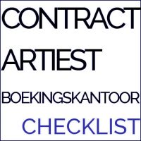 contract artiest boekingskanoor check
