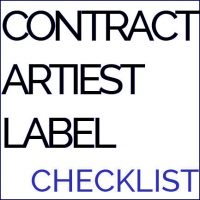 contract artiest label check